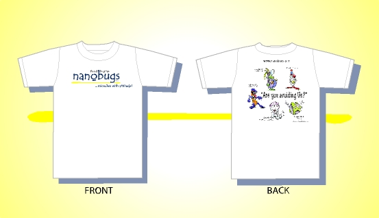nanobugs short sleeves design