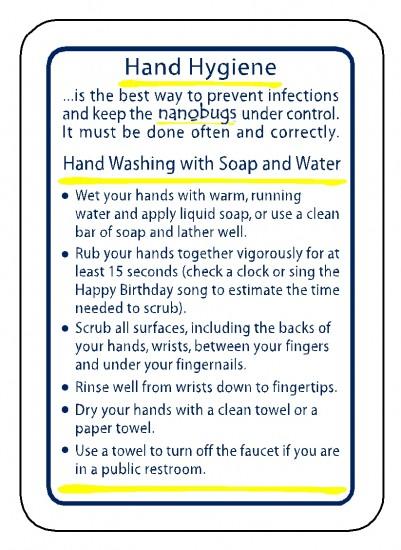 Hand Hygiene front