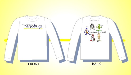 nanobugs long sleeve shirt detail